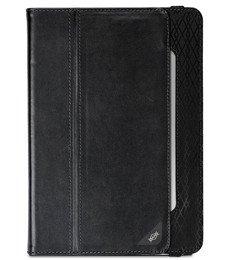 X-Doria Dash Faux Leather Apple iPad Air Folio Flip Cover Case (Black)