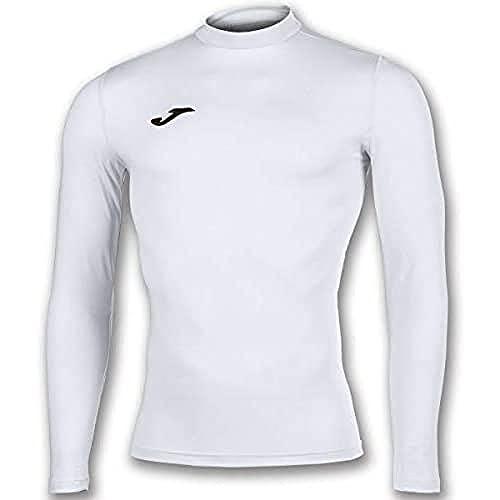 Joma Academy - Maglietta Termica da Uomo, Uomo, Maglietta Termica, 101018.200.L-XL, Bianco, L-XL