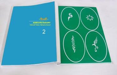 Airbrush tattoo-sjablonen - boek 02