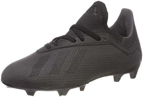 adidas X 18.3 Fg, Scarpe da Calcio Unisex-Adulto, Nero (Cblack/Cblack/Ftwwht Cblack/Cblack/Ftwwht), 36 EU