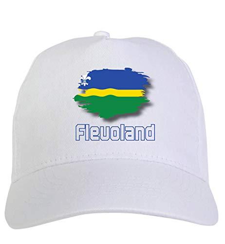 Typolitografie Ghisleri cap wit Flevoland Holland vlag klittenbandsluiting 120