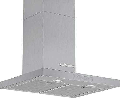 Bosch DWB67CM50 Serie 4 Wandesse / B / 60 cm / Edelstahl / wahlweise Umluft- oder Abluftbetrieb / TouchSelect Bedienung / Silence / Intensivstufe / Metallfettfilter (spülmaschinengeeignet)