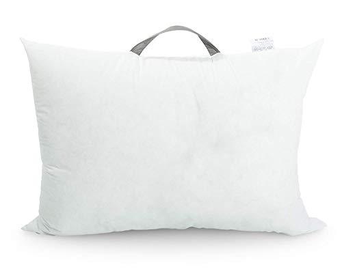 sei Design Faserfüllung | Kissenfüllung - antiallergisch & Kochfest - 1000 g. Schneeweiße Faserbällchen, Schadstoffgeprüft und bis 95° Waschbar