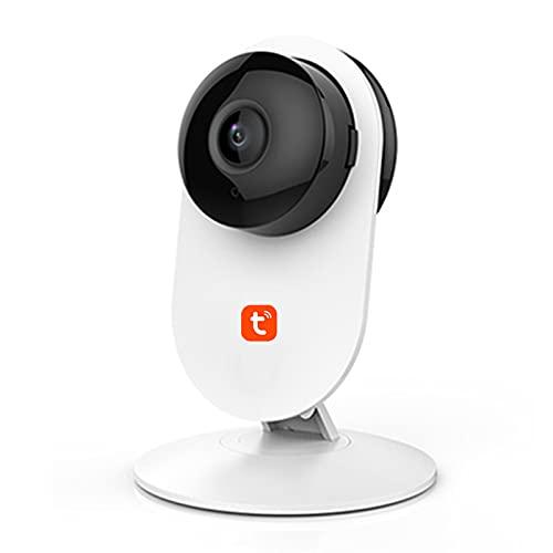 Tuya Cámara IP 1080P, monitor humano inalámbrico del bebé de la detección del CCTV de la vigilancia de la seguridad en el hogar de WiFi,Camera