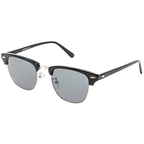 CHANCE - TESS Gafas de sol clásicas unisex - Edición Limitada (Negro y dorado, Verde G-15)