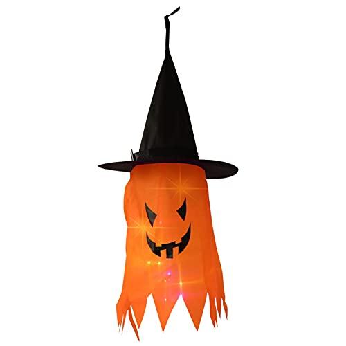 VALICLUD Dia Das Bruxas Acessórios Do Traje de Halloween Bruxa Chapéu de Bruxa Chapéu Do Partido Chapéu Luminosa para O Dia Das Bruxas Partido Quintal Ao Ar Livre Decoração Da Árvore de