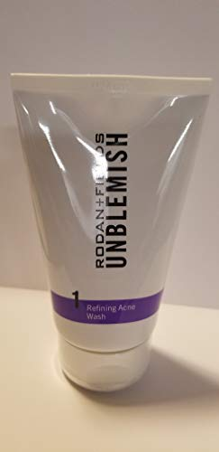 UNBLEMISH Acne Treatment Sulfur Wash (125 mL/4.2 US fl. oz) - UNWA125