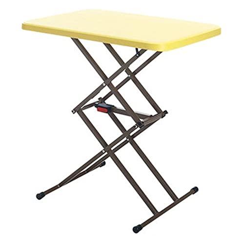 XuZeLii Klappbarer Camping-Tisch Klapptisch Hubtisch Stall Balkon Kleiner Tisch Falten Esstisch Haushalt Einfache Outdoor Tragbare Quadratische Tisch Esstisch Geeignet zum Wandern