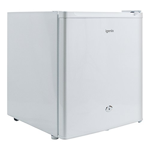 Igenix IG3751 Table Top Mini Freezer with 35 Litre Capacity, Ideal for Additional Freezer Space with 1 Shelf, Reversible and Lockable Door, White