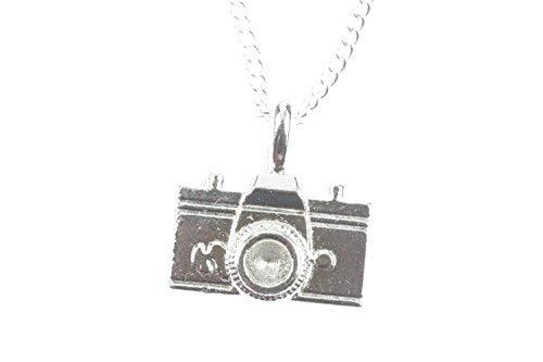 Miniblings Camara de la Cadena Collar de 45 cm de la Camara de Fotos fotografo Fotos de Archivo - Plata Cadena de eslabones - joyería Hecha a Mano Moda