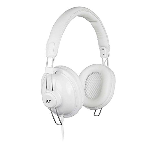 KitSound Levellers Sound Limiting Headphones Geschikt voor kinderen Compatibel met iPad 2, 3, 4, Mini, iPod en iPhone 3G, 3GS, 4, 4S en 5 - Black- Parent Asin Pure-White