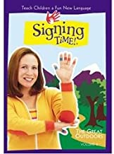 Signing Time Great Outdoors Dvd