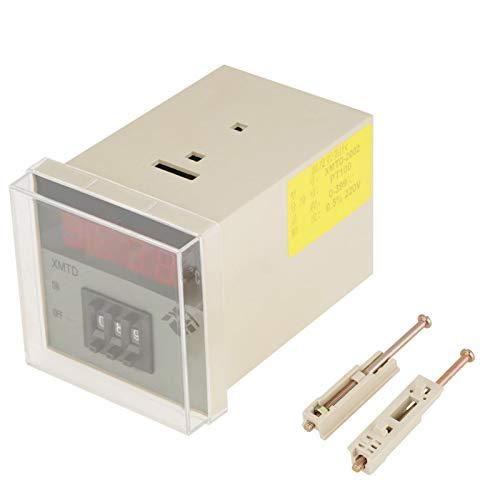 Controlador de temperatura digital XMTD-2002 220V para control de temperatura