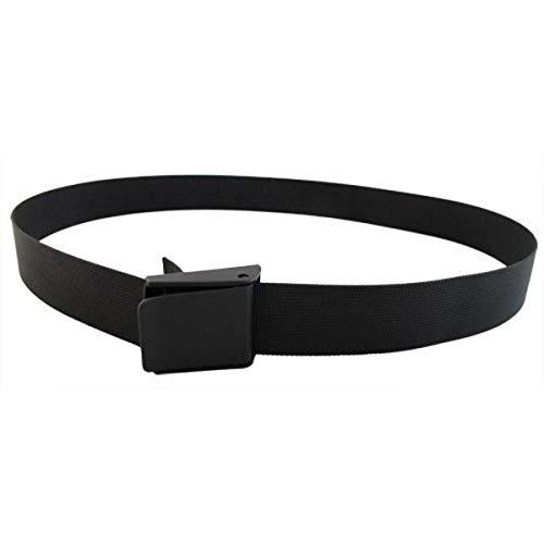 Scuba Choice Scuba Diving 60  Long 2  Webbing Weight Belt with Plastic Buckle, Black