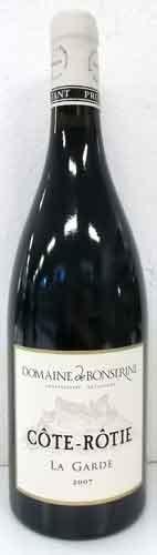 ボンスリーヌ コート・ロティ ラ・ガルド 2007 フランス産赤ワイン