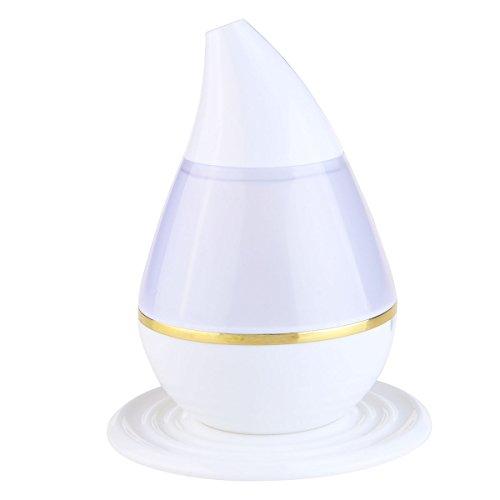 Rosenice Humidificateur USB Aromatherapy Diffuseur humidificateur purificateur d'huile essentielle 7 couleurs LED parfum purificateur