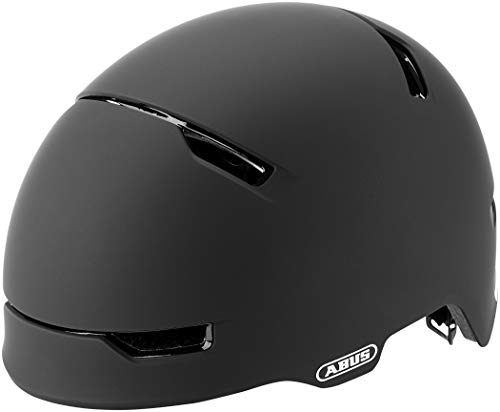 ABUS Unisex-Erwachsene SCRAPER 3.0 ACE Fahrradhelm, Schwarz (velvet black), M (54-58)