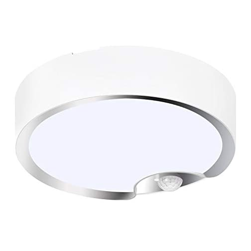 TOOWELL Motion Sensor Ceiling Light Battery Operated Indoor/Outdoor LED Ceiling Lights for Hallway Laundry Stairs Garage… 3