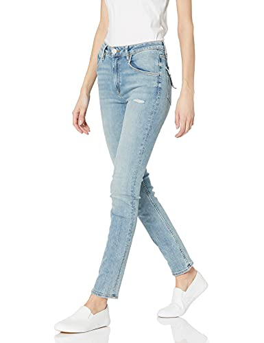 HUDSON Jeans Women's Collin High Rise Skinny Jean, with Back Flap Pockets, DEST. Moving On, 25