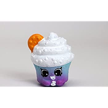 Shopkins Season 5#5-070 Creamy Cupcake Cookie | Shopkin.Toys - Image 1