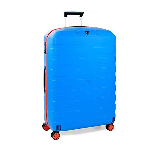 Roncato Box Young Maleta Grande Naranja/Azul, Medida: 78 x 50 x 30 cm, Capacidad: 118 l, Pesas: 3.60 kg