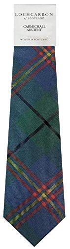 I Luv Ltd Gents Neck Tie Carmichael Ancient Tartan Lightweight Scottish Clan Tie