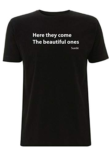 GLE Suede Beautiful Ones Song Lyrics T Shirt Coming Up Album Brett Anderson