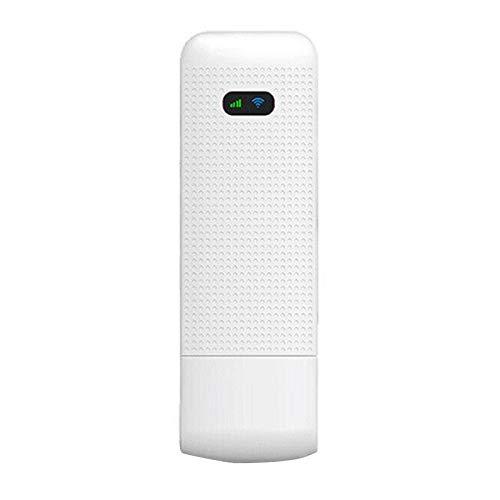 SNOWINSPRING Enrutador 4G LTE MiFi 150Mbps WiFi Enrutador InaláMbrico MóDem USB con Ranura para Tarjeta SIM