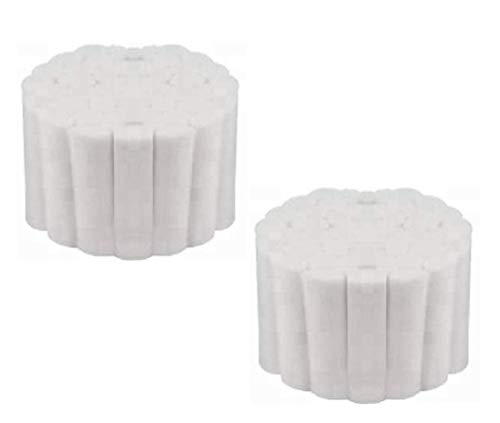 "100 Dental Cotton Rolls - #2 Medium 1.5"" Non-Sterile 100% High Absorbent Cotton (100 Count)"