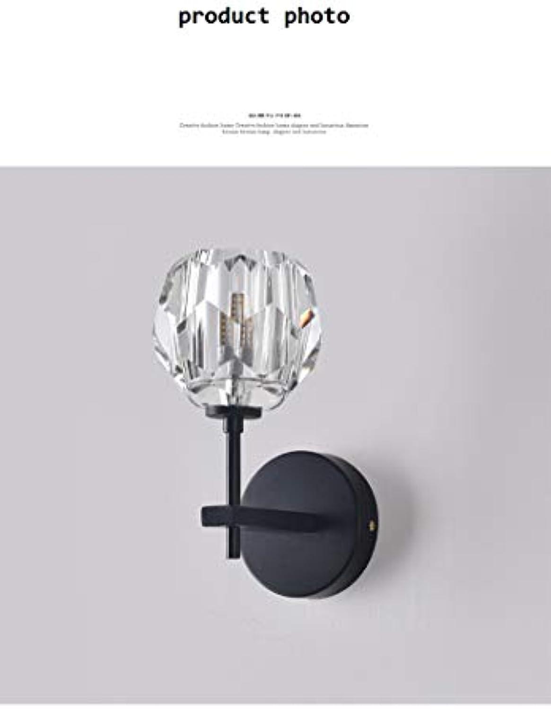 XMIMI Europische Hotelwandlampe Post Moderne minimalistische Kunst kreative Beleuchtung nordischen Kristalllampen