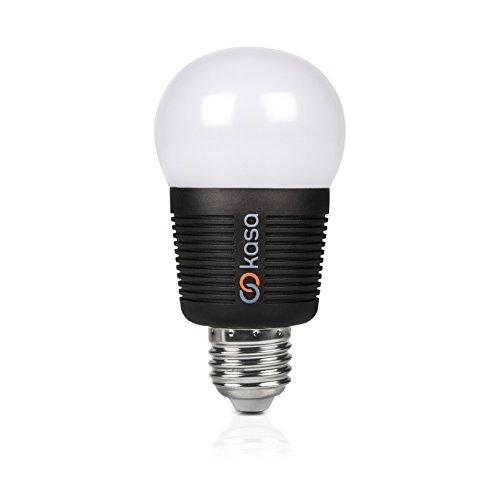 Veho Kasa - Lámpara LED Inteligente de Intensidad Regulable, Bluetooth, Cambio de Color, Edison E27, 7,5 W