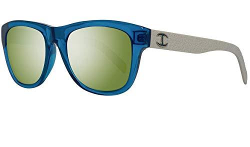 Just Cavalli JC597S 5490Q Sunglasses JC597S 90Q 54 Wayfarer Sonnenbrille 54, Blau