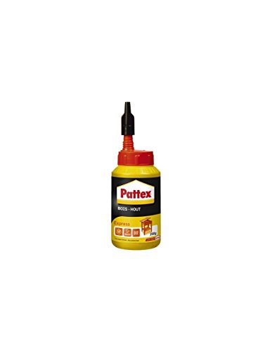Pattex - Legno express, Biberon, capienza 250 grammi