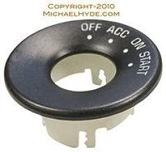 597642 GM Ignition Bezel - Strattec Lock Part