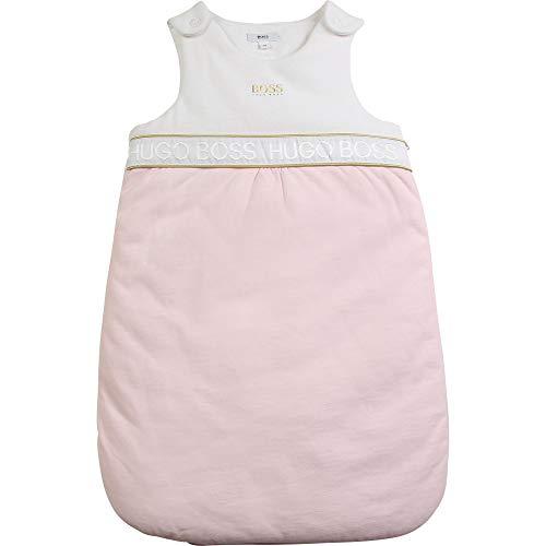 BOSS Saco de Dormir de Punto Bebe Rosa Pastel Talla UNO