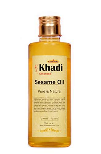 Khadi Omorose Sesame Carrier Oil 210 ml, Natural & Coldpressed
