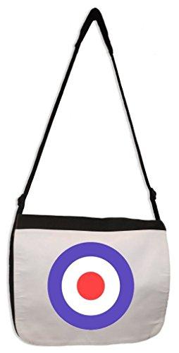 Mod Target Laptop Messenger Bag