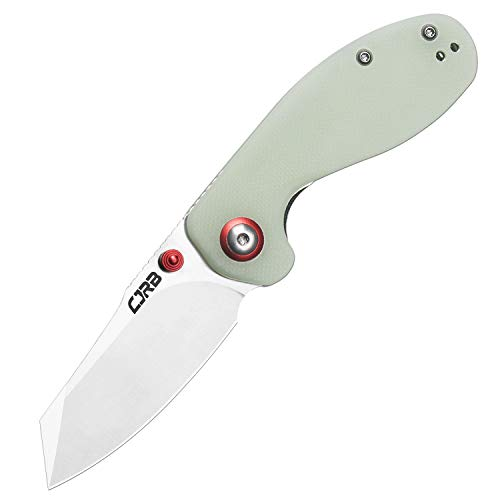 CJRB Folding Knives Maileah (J1918-NTG) AR-RPM9 Powder Steel Balde G10 Tactical Handle Pocket Folding Knife EDC Green