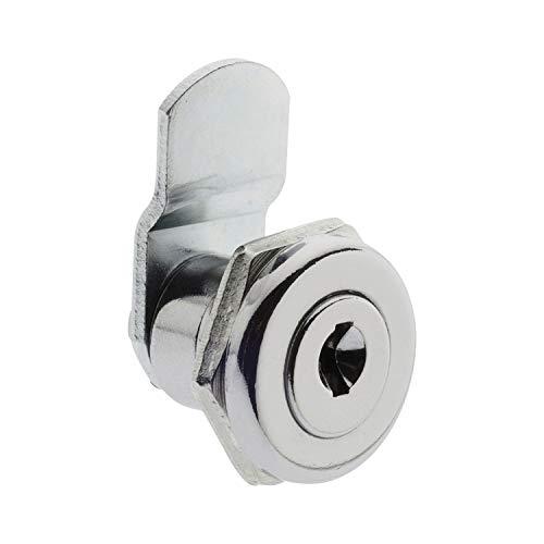 BURG-WÄCHTER Universalzylinder, Ersatzzylinder für Briefkästen verschiedener Fabrikate, Scheibenzylinder mit 2 Wendeschlüsseln, ZBK 70