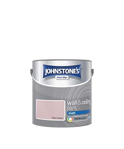 Johnstone's Wand- & Deckenfarbe matt Emulsion Ballettschuh 2,5 Liter 308630