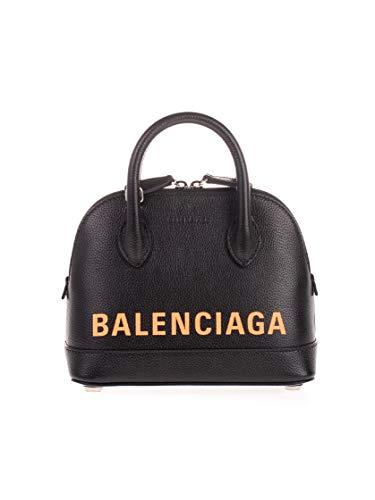 Balenciaga Luxury Fashion Damen 5506461IZ331075 Schwarz Leder Handtaschen   Herbst Winter 20