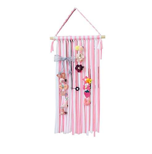 Upstore - 1 diadema de 60 cm para niñas y niños (accesorios para el pelo no incluidos), color rosa y blanco, rosa y blanco, Free