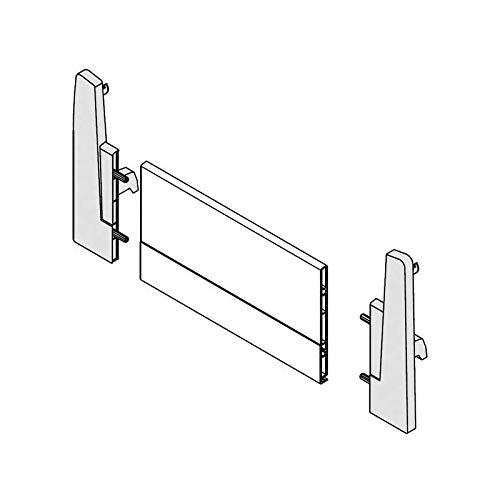 Attaches façade montage à l'anglaise - Décor : Blanc - HARN