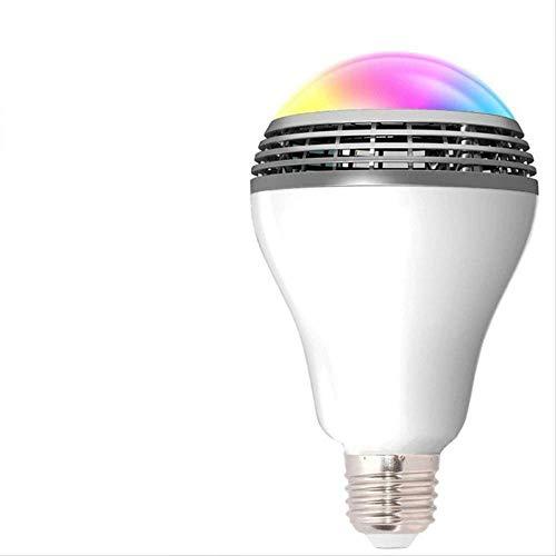 Smart Wifi LED-lamp Smart App draadloze luidspreker licht kan muziek beluisteren verlichting timerfunctie kleurrijke draadloze luidspreker licht