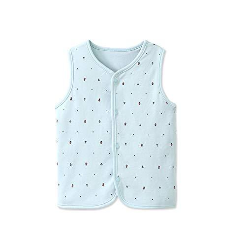 Vest van katoen, unisex, voor baby's, warm, katoen, omkeerbaar, katoen, voor peuters