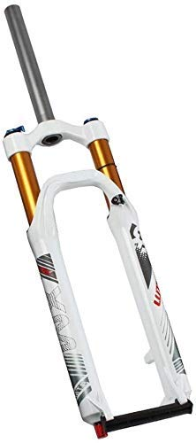 SJMFGF Suspensión Bicicleta de Montaña Bicicleta MTB Tenedor de 26 pulgadas de Montaña Amortiguador de Ajuste (Color: B, Tamaño: 26 pulgadas)