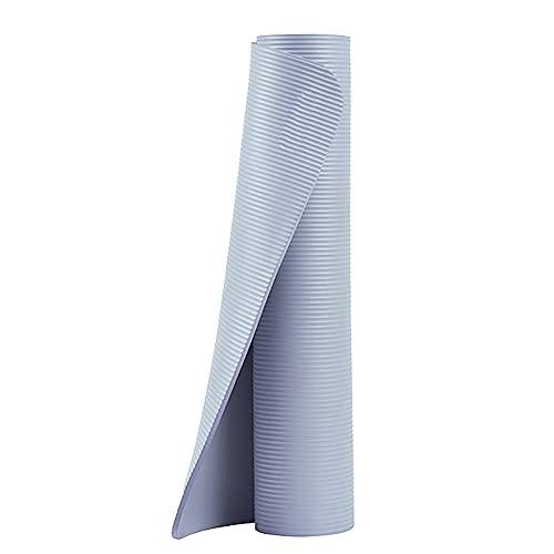 KOKIN Esterilla Deporte Yoga Pilates Fitness Colchoneta Gimnasia Antideslizante, 185 * 80cm, Material NBR Ecologico, Para Entrenamiento De Gimnasia/blue