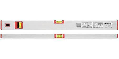 Format 7647270200 - Wasserwaage met. leicht, 200 cm, silber elox.