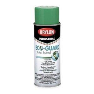 Krylon Sherwin Williams K07905000 Eco-Guard Latex Spray Paint OSHA Green 12 Oz