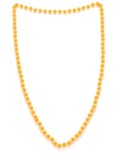 2 collares de neón (colores aleatorios) para fiestas divertidas y disfraces. Ref: 2FLU.